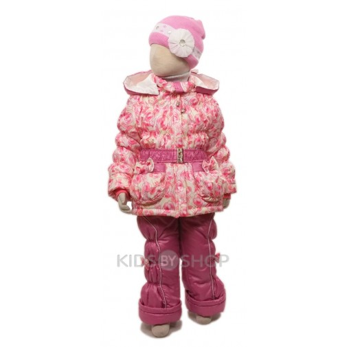 """EGORKA, комплект """"Яблочки"""" розовый 80-110"""