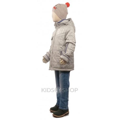 """EGORKA, куртка весна-осень """"Классик"""" серый 98-128"""