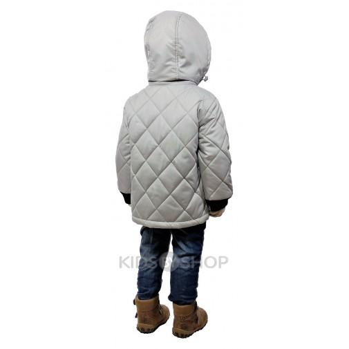 """EGORKA, куртка весна-осень """"Егор"""" серый"""