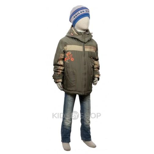 "EGORKA, куртка весна-осень ""Вело"" хаки 98-122"