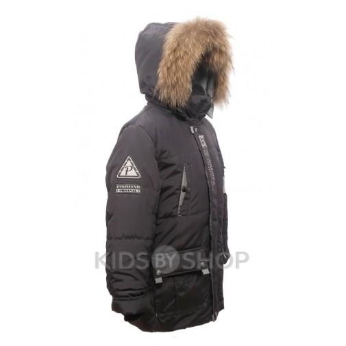 "PIKOLINO, зимняя куртка ""Аляска"" серый 134-158"