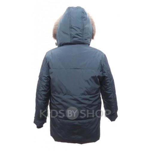 """PIKOLINO, зимняя куртка """"Аляска"""" синий 134-158"""
