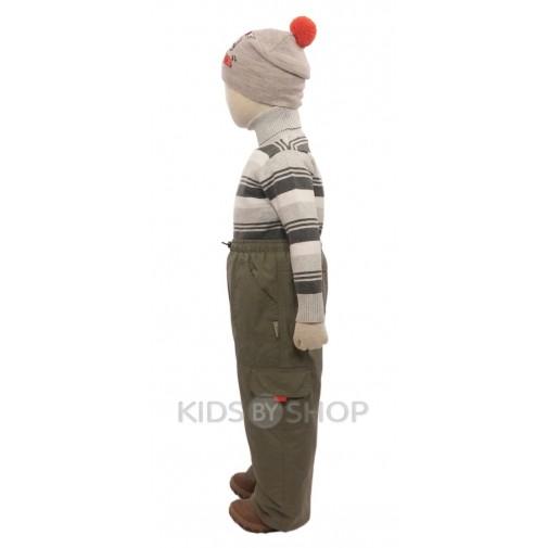 PIKOLINO, брюки  хаки (подкладка фланель)