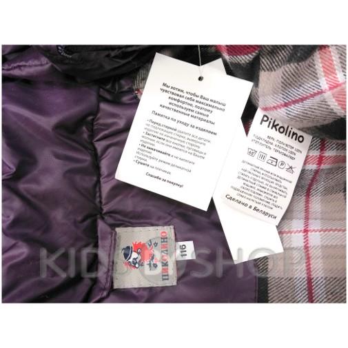 "PIKOLINO, куртка весна-осень ""Ромб"" баклажан 92-116"