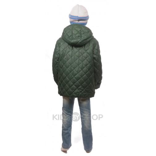 "PIKOLINO, куртка весна-осень ""Ромб"" зелёный 92-116"