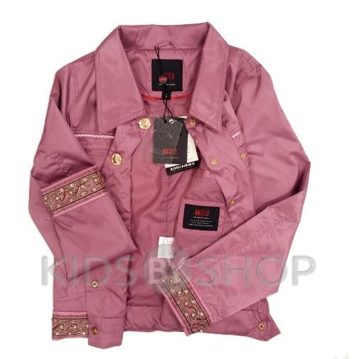 ANGELO, ветровка-пиджак подростковая брусника 140-158