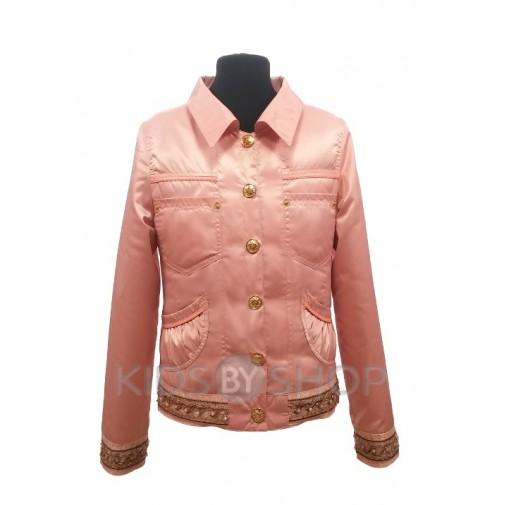 ANGELO, ветровка-пиджак подростковая розовый 140-158